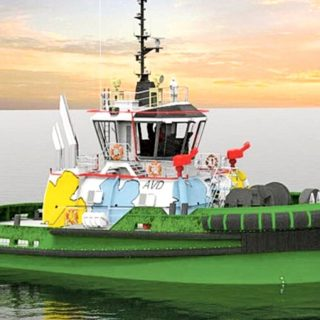 The world's first hydraulic hybrid tugboat from Turkey